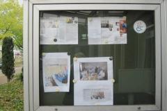Infokasten am Eingang zur Seepark Klinik (07-2019)